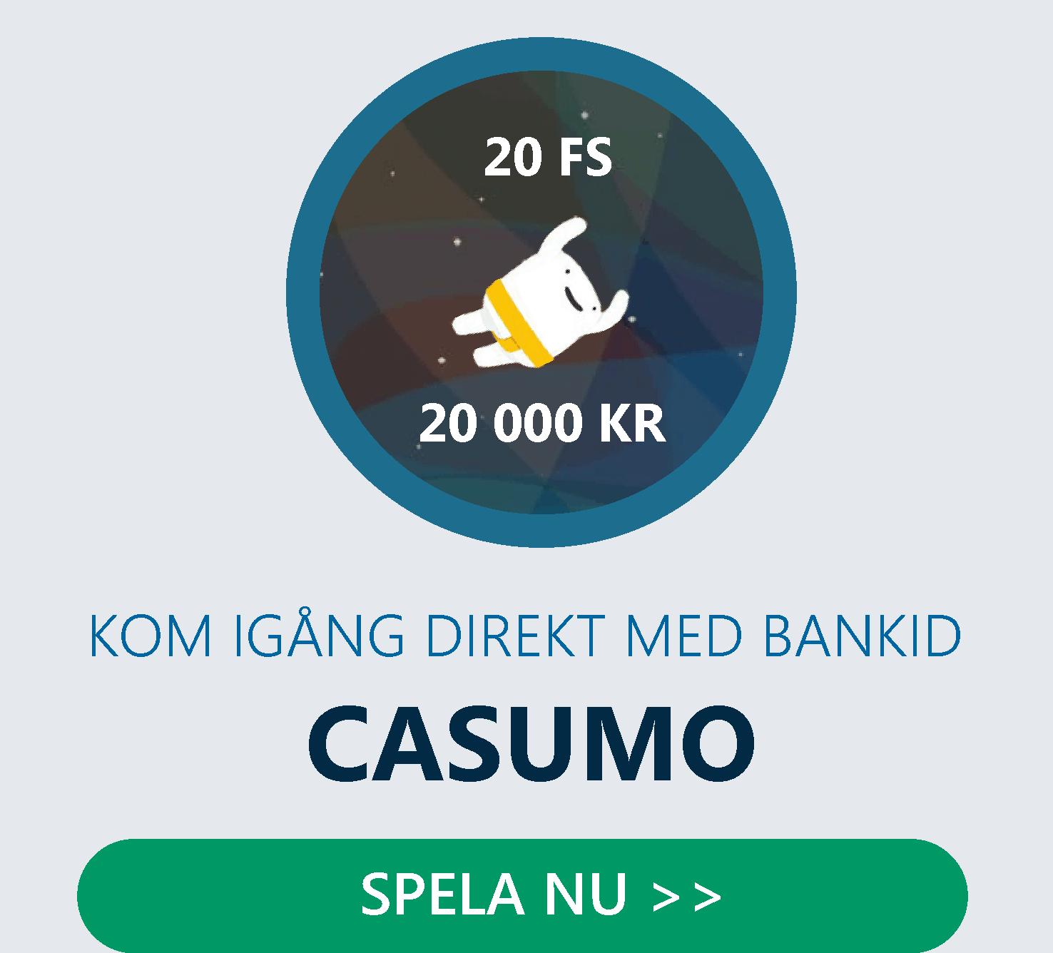 Casumo är ett casinoäventyr