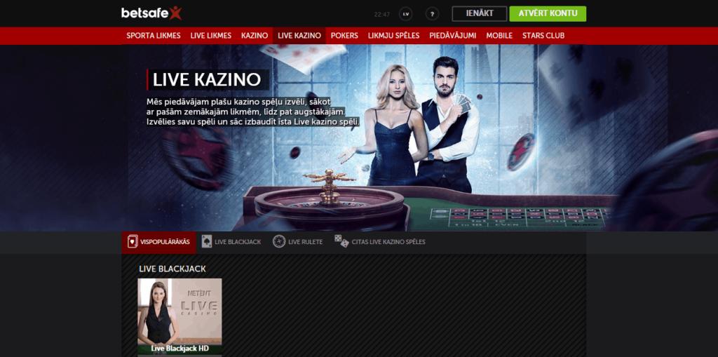 betsafe-live-kazino
