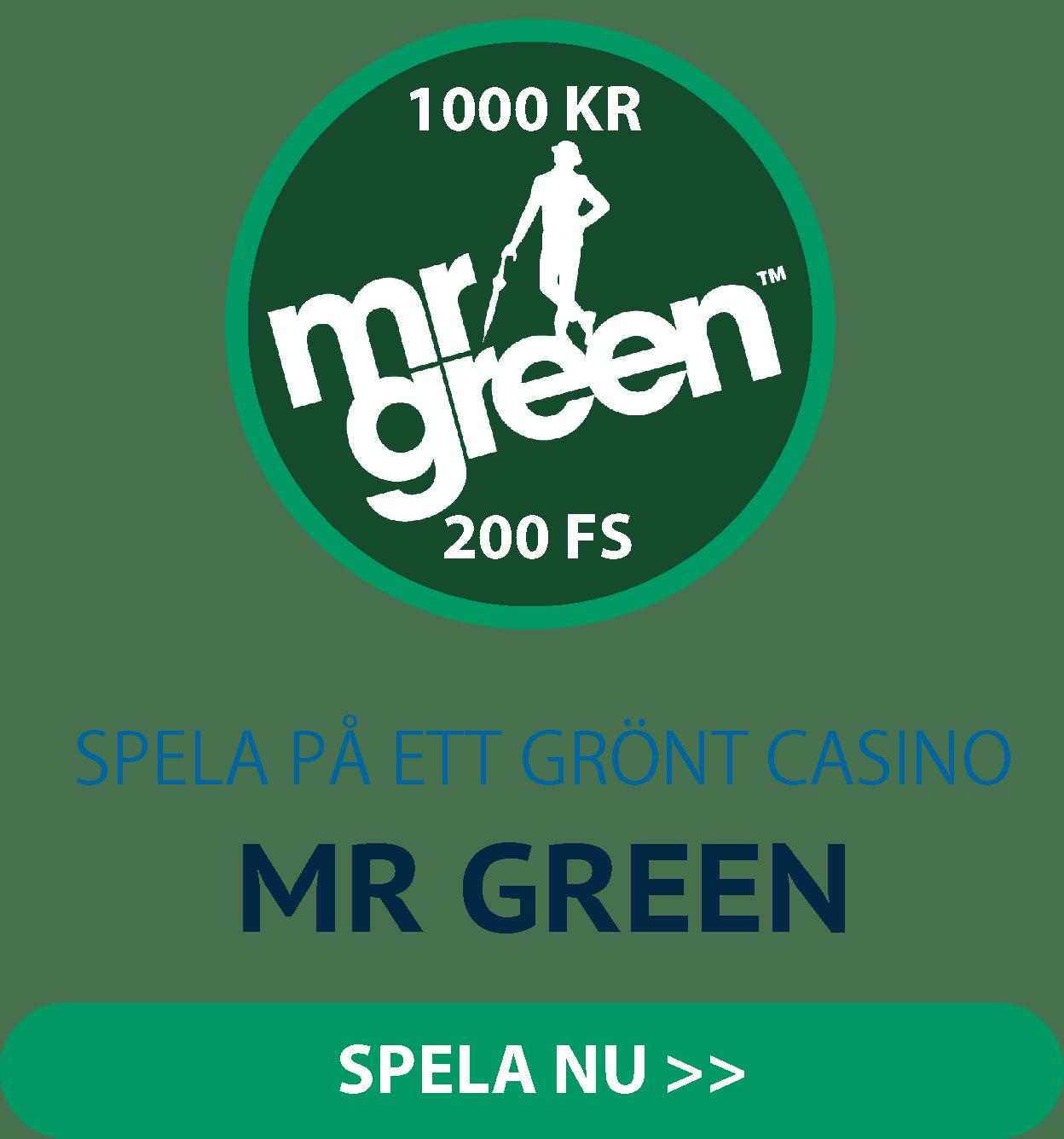 Börja spela på Mr Green