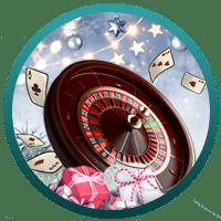 Kalendrar och godis - julen hälsar på hos våra casinon