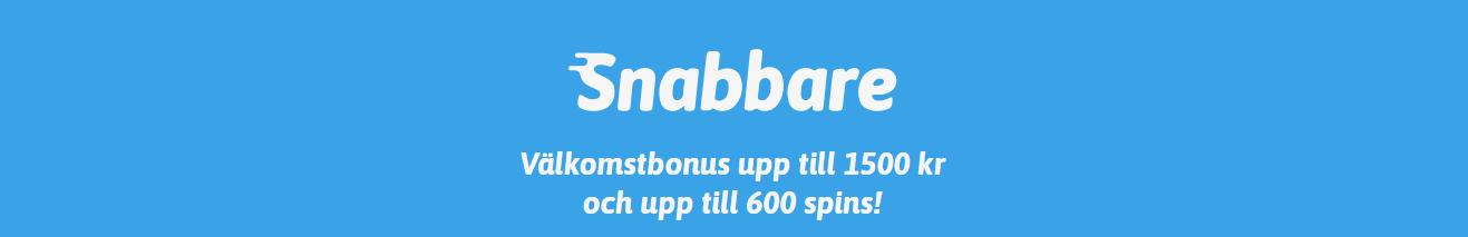 Ny bonus hos Snabbare Casino