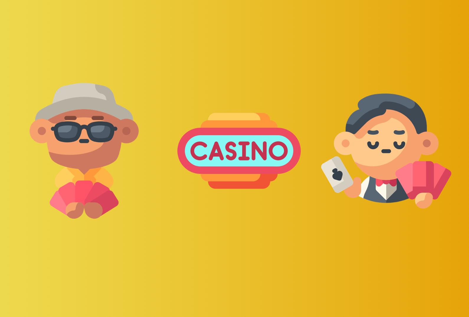 Skillnaden mellan fysiska och online casinon